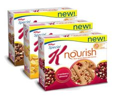 Whether as a part of your breakfast or a mid-afternoon snack, Special K's Nourish line delivers. Made with a whole-grain blend, each bar contains 5 grams of fiber and 8 grams of protein. Coming in a variety of flavors, including Dark Chocolate Nut Delight, Cranberry Almond and Lemon Twist, there's a flavor (or three) you're sure to love.