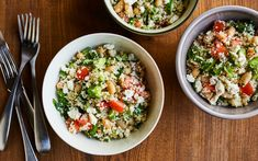 Orzo and Crab Lemon Salad – Savor by Geneviève O. Gleman by Couscous, Salad Dressing, Fried Rice, Salad Recipes, Side Dishes, Salads, Nutrition, Lunch, Vegetables