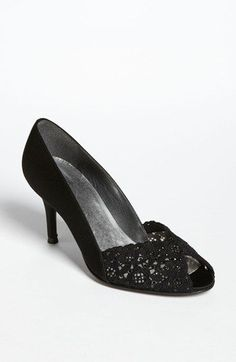 Stuart Weitzman 'Chantelle' Pump available at #Nordstrom.  Wedding shoes idea