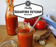 Super einfaches Rezept und unglaublich tomatiger Geschmack - ganz ohne Zucker! Low Carb Ketchup perfekt für Dein gesundes Barbecue im Sommer.