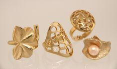 Bronzen sieraden Jos - verguld