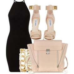 Designer Clothes, Shoes & Bags for Women Cute Swag Outfits, Dressy Outfits, Classic Outfits, Stylish Outfits, Party Dress Outfits, Date Outfits, Night Outfits, Kpop Fashion Outfits, Cute Fashion