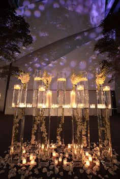 Romantic and Elegant Wedding Centerpiece