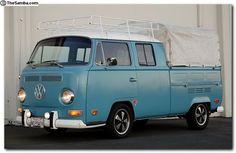 satin blue and very clean Bus Camper, Volkswagen Bus, Mk1, Pick Up, Kombi Clipper, Vw Doka, Medical Technology, Energy Technology, Technology Gadgets