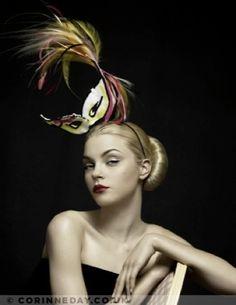 """Golden Years"" | Model: Jessica Stam, Photographer: Corrine Day, Vogue UK, October 2007"