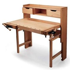 Folding Workbench Is Good for Small Garages « Luxury Housing Trends