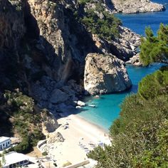 Kyra Panagia beach on Karpathos