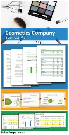 Cosmetics Company Business Plan. Selling a cosmetic product, such as makeup, perfume and other products used to improve one's personal look or scent is a great business. If you have wanted to start selling a cosmetic product(s) then this business plan and start-up kit will help you get all your ideas together to launch a company.