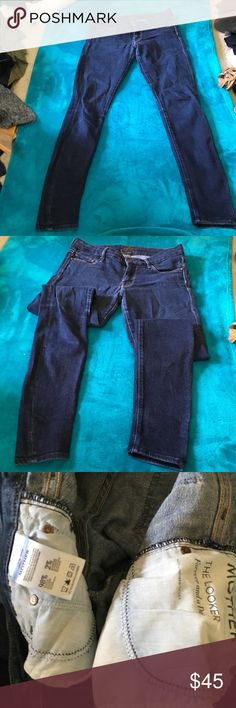 Mother the looker for ever and a day Size 27 98 percent cotton MOTHER Jeans Skinny