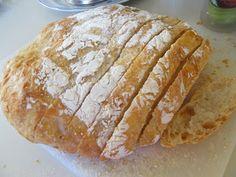 No Knead Bread (recipe by Jim Lahey of Sullivan Street Bakery, originally found in the New York Times)