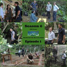 "S6 episode 1 ""Mai Ho'oni I Ka Wai Lana Malie"" collage promo stills CBS"