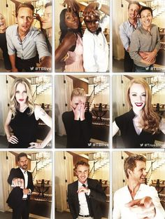 Cast of True Blood live on the set before season 6 premiere