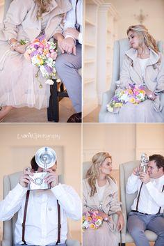 Vanilla Photography - quirky wedding couple shoot inspiration