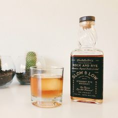 Slow & Low Rye Whiskey
