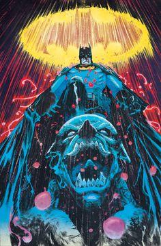 Batman on Duty - Devmalya Pramanik, Colors: Chris O'Halloran