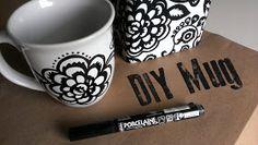 Miss Adventurenaut: DIY Mug Art