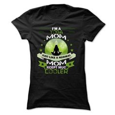yoga mom T Shirts, Hoodies, Sweatshirts. CHECK PRICE ==► https://www.sunfrog.com/Fitness/yoga-mom.html?41382