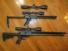 marauder pistol and rifle mods