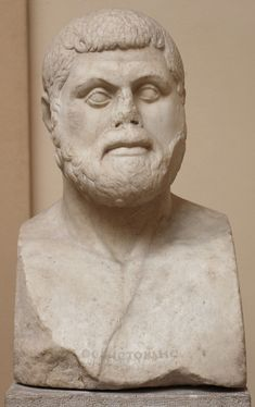 A marble bust of Athenian statesman and general Themistocles (c. 524 - c. 460 BCE), the victorious commander at the crucial battle of Salamis against Persia. Ancient Greek Art, Ancient Greece, Greek History, Ancient History, Battle Of Salamis, Social Studies For Kids, History Encyclopedia, Achaemenid, Creta