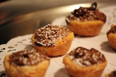 Pampered Chef Pecan Tassies