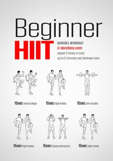 HIIT is likewise responsible for developing muscle mass. This is because HIIT constructs endurance and causes more blood flow with better contractility to the muscles. Hiit Workout At Home, Hiit At Home, At Home Workouts, Workout Diet, Ab Workouts, Pre Workout Stretches, Couch Workout, Office Workouts, Ladder Workout