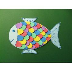 1000 images about fisch basteln on pinterest basteln kindergarten and ps - Fische basteln aus papier ...