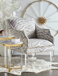 The Sahara Chair in custom fabrics