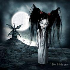 Dibujos góticos de Toon Hertz