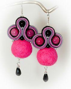 Soutache earrings. Soutache Earrings, Drop Earrings, Belly Button Rings, Jewelry, Fashion, Moda, Jewlery, Jewerly, Fashion Styles