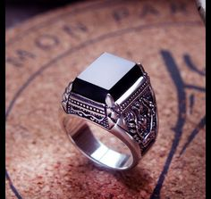 ♥ We ONLY make 100% Solid 925 Sterling Silver Jewelry. ♥ All the products will ship in 3 business days after the payment is confirmed. ♥ Size/Dimensions/Weight ♥ Measurement: Ring Width:...