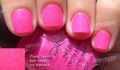 Icing-Pink Sparkle Nail Polish