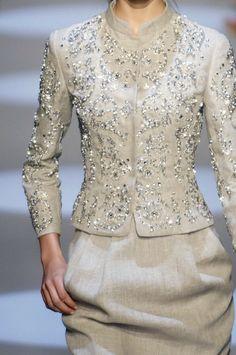 ~ Living a Beautiful Life ~ Algerian fashion: light Beige karakou Couture Fashion, Hijab Fashion, Fashion Dresses, Lace Dress, Dress Up, Dress Prom, Prom Dresses, Traditional Dresses, Beautiful Outfits