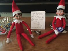 Dexter and Dolly brought back a surprise for Annaleigh 12-6-15