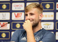 The England full back returned to action for Manchester United in a pre-season friendly at Wigan last weekend, and is set to play his second game against Borussia Dortmund on Friday. Luke Show, Leg Injury, English Premier League, Adidas, Manchester United, Squad, England, The Unit, Football