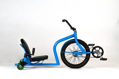 New bike concept.  Looks so fun, really tight turns, spins, drifts.