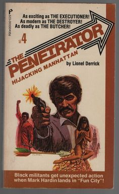 Vintage paperback 1974 First Edition of The Penetrator #4 Hijacking Manhattan