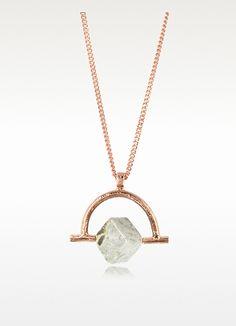 Wonder Wander Agate Stone Women's Necklace - Bjorg