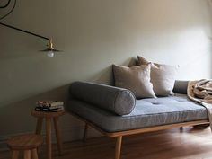 Another Country chaise Lounge at Workstead Apartment, Photograph by Matthew Williams