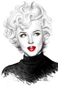 Fan Art of marilyn monroe for fans of Marilyn Monroe 36472113 Pop Art Marilyn Monroe, Marilyn Monroe And Audrey Hepburn, Marilyn Monroe Tattoo, Marilyn Monroe Painting, Marilyn Monroe Photos, Illustration, Norma Jeane, Portrait Art, Belle Photo
