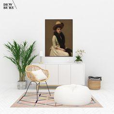 Vintage Woman, Vintage Art, Vintage Ladies, Nautical Painting, Victorian Portraits, Websites Like Etsy, Coastal Wall Decor, Affordable Home Decor, Cool Artwork