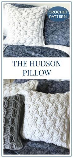 The Hudson Pillow Pattern (for purchase)