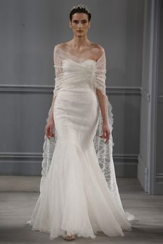 2014 Monique Lhuillier Wedding Dresses Collection – New York Bridal Fashion Week | onefabday.com
