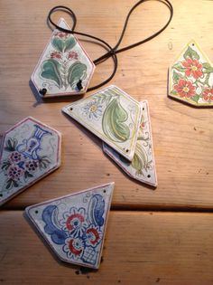 New necklaces I've just finished ready for Christmas sale in Aylsham 29th with Vintage Home Decor. £12 plus £2.00 p and p