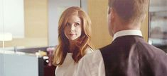 Harvey looks at Donna like she is the world