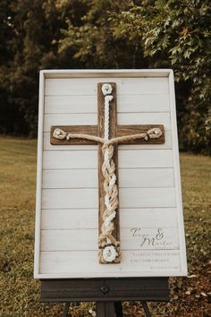 Texas Sized Framed 3 Cord Wooden Rustic Cross, Unity Alternative Wedding, Unity Wedding ceremony, A Cord of 3 Strands, Ecclesiastes – Wedding Planning Organization Wedding Ceremony Ideas, Wedding Events, Western Wedding Ideas, Western Weddings, Wedding Reception, Budget Wedding, Church Wedding, Reception Ideas, Wedding Country