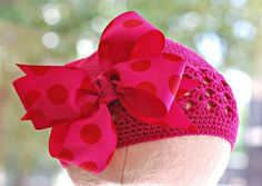 How to make big hair bows