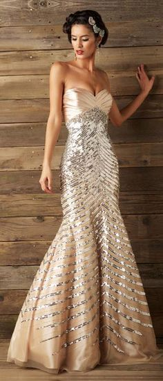 Maybe a little too much sparkle but love the style