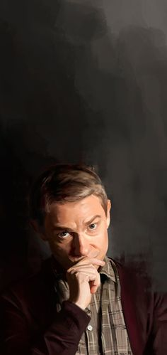 John Watson by Namecchan<<<<< Woah... that's not a photograph... i just love our fandom... Cheers!