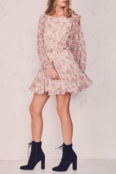 Ruffle Noelle Dress