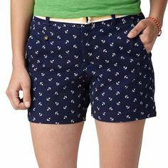 Dockers Soft Khaki Truly Slimming Anchor Shorts on Wanelo